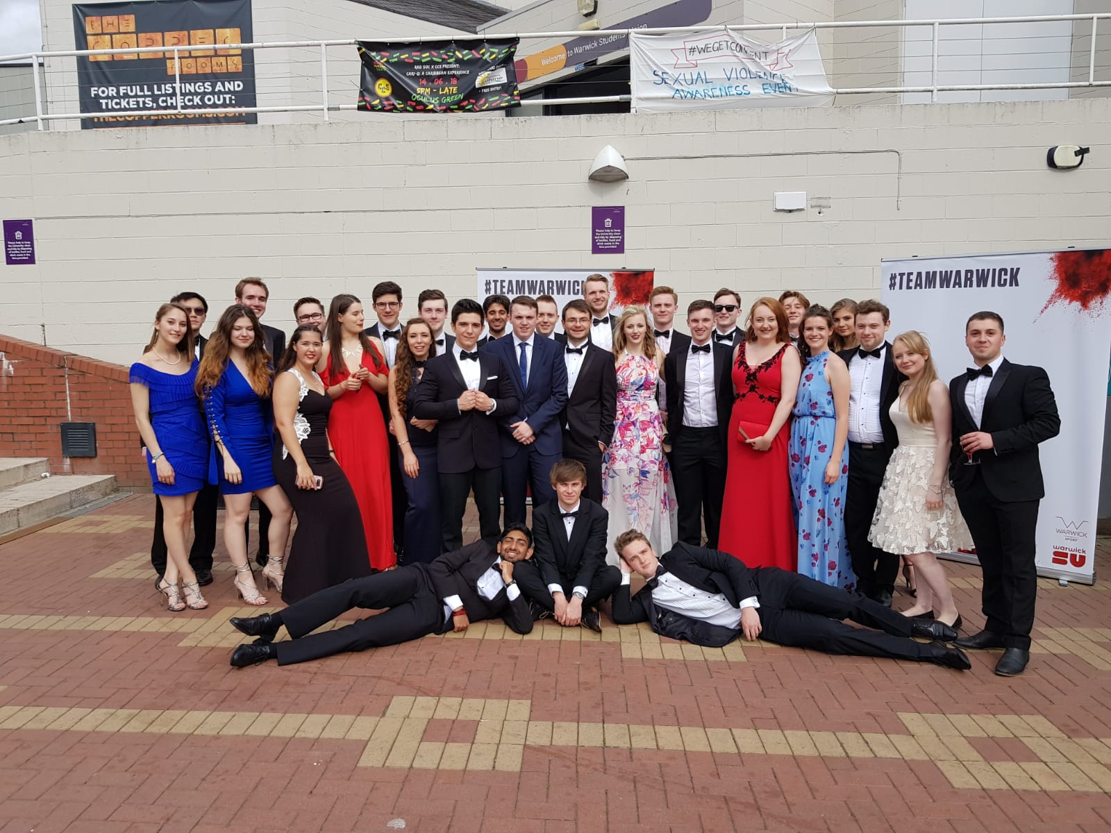 WarwickSquash attending Sports Ball 2018