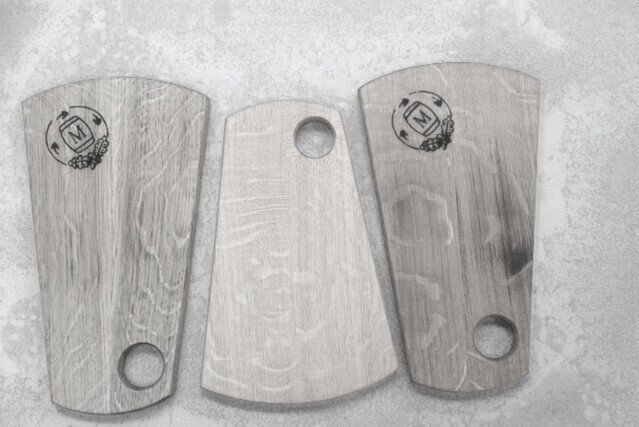Murray Jessup - Murray Jessup makes a variety of objects ranging from serving platters to furniture from retired wine barrels and whisky casks. The timber for wine or whisky barrels is sawn from trees sustainably harvested from French or American oak forests at least 125 years of age and are usually stained a rich red hue by the red wine they held.Email:mjjessup@internode.on.netStudio visits by appointment.