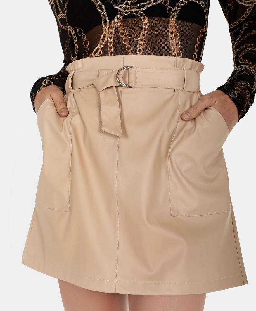 Paperbag A-line Skirt    R159.99    Such a cute little skirt, I absolutely adore the colour - I just feel like this pale beige really elevates an outfit. Looks so much pricier than it is.