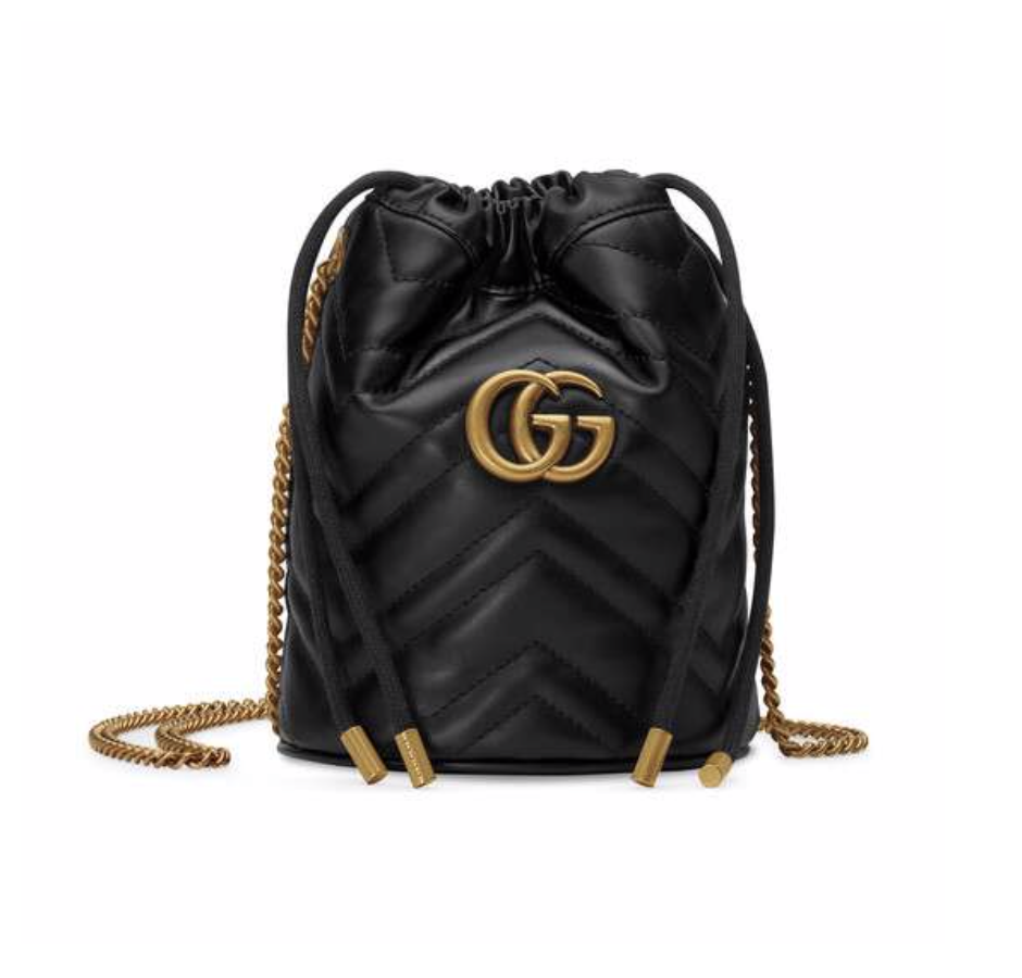 Copy of Copy of GUCCI MARMONT BUCKET BAG