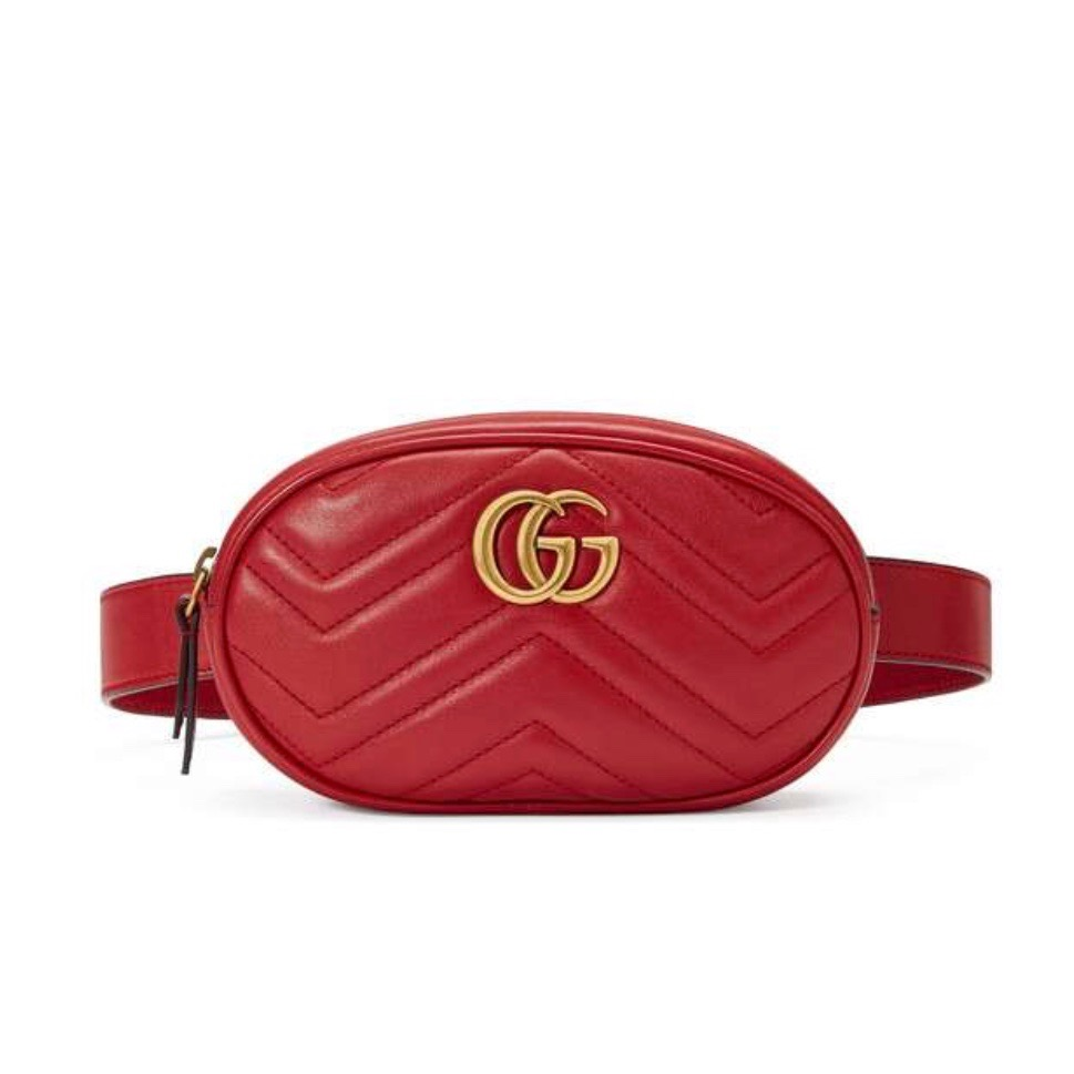 Copy of Copy of GG MARMONT MATELASSÉ LEATHER BELT BAG
