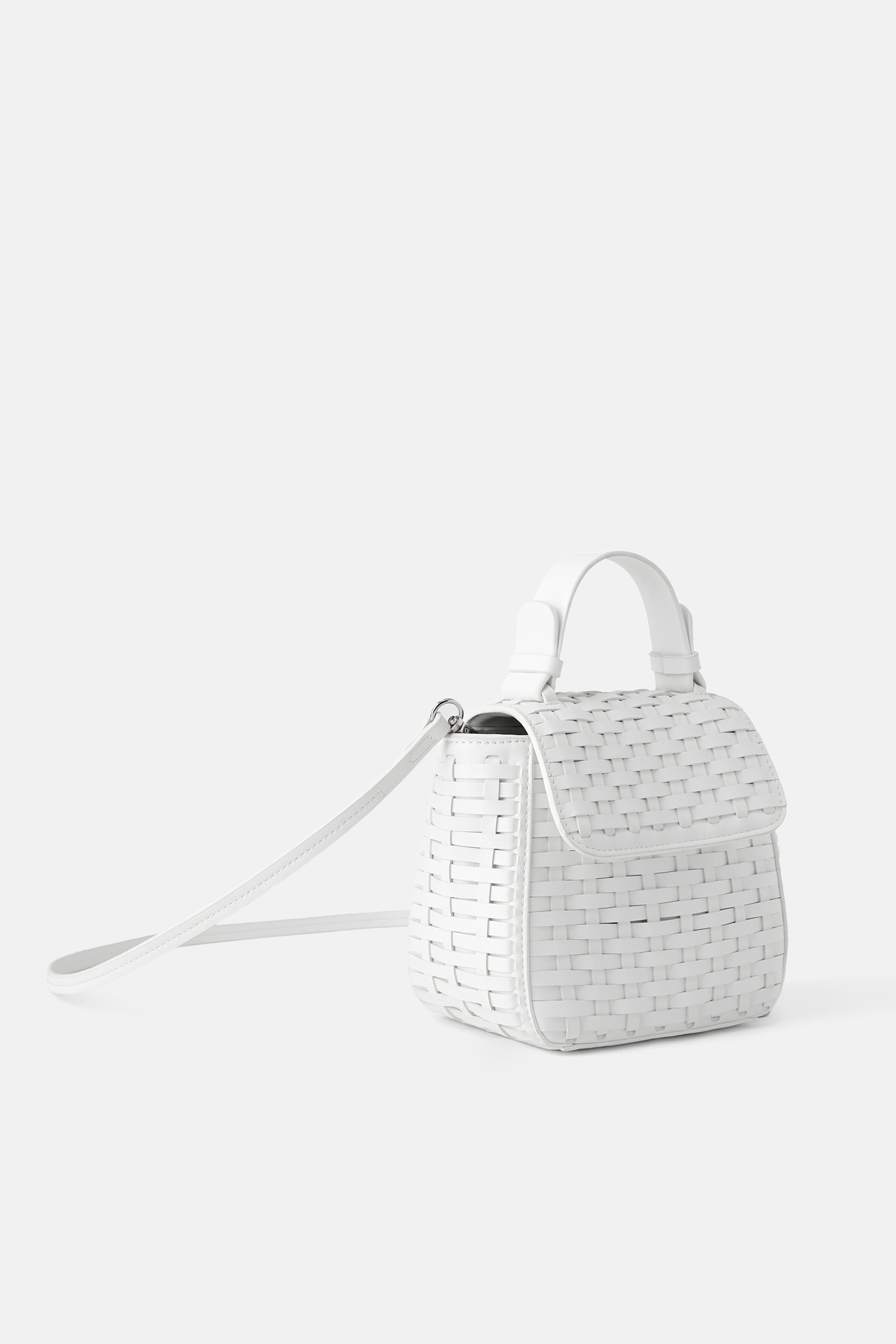 Copy of Copy of ZARA WOVEN MINI CITY BAG