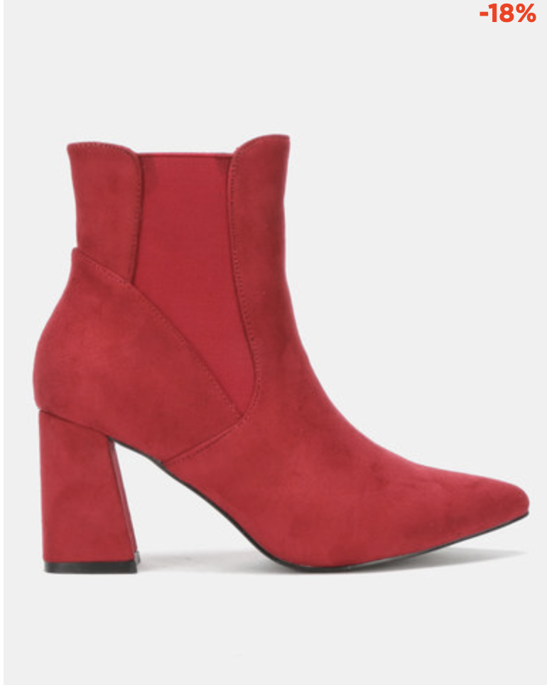 Copy of UTOPIA GUSSET FLARE BOOT RED