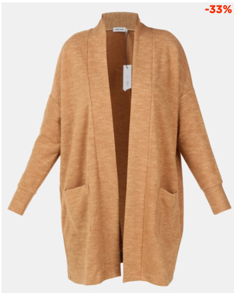 Copy of PAIGE SMITH CARDIGAN WITH POCKETS CAMEL