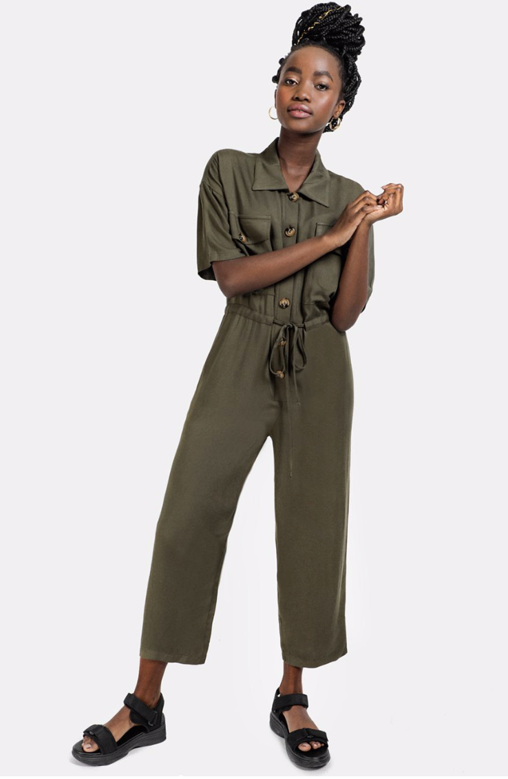 This caught my eye and I really like the look of it but it does worry me that you may run the risk of looking extremely boiler room worker on safari. Have to try it on  Boiler Jumpsuit from Mr Price  R199