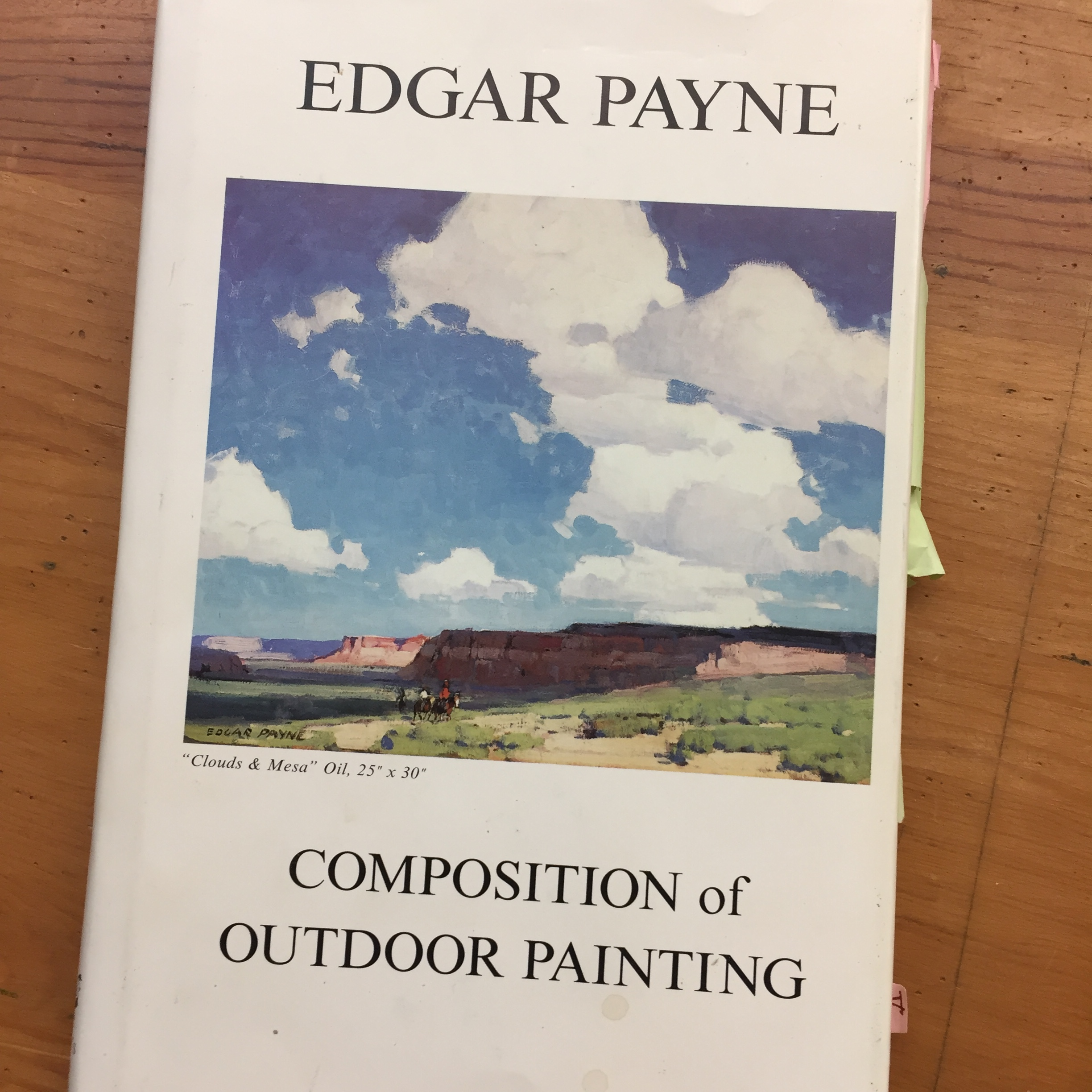 Composition of Outdoor Painting--NEW!! Edgar Payne