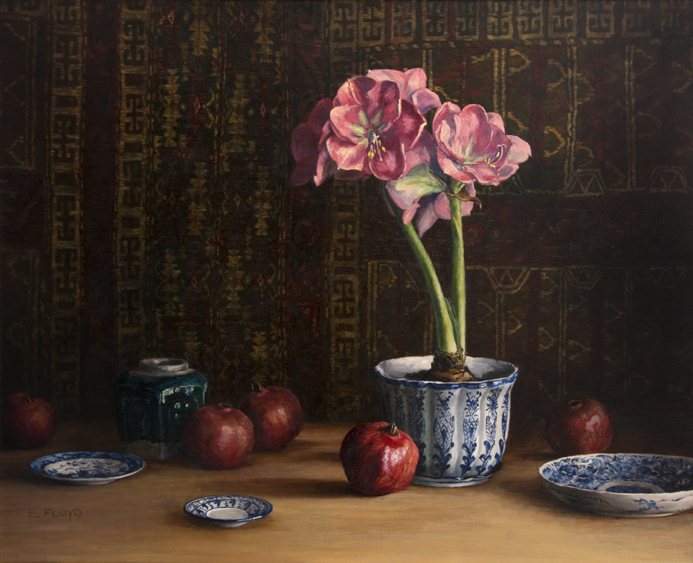 20150302-002_Amaryllis-and-Pomegranates 24x30.jpg