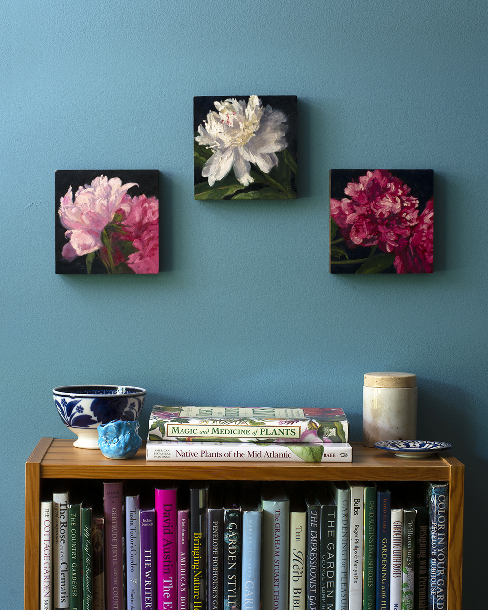 6x6 blue wall - three peonies.jpg