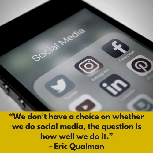 Social media marketing quote