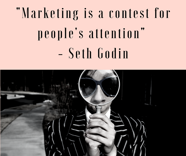 How can you stand out amongst your competitors on a small marketing budget?