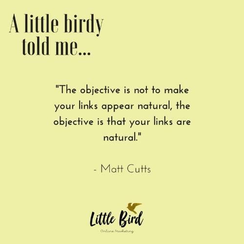 Matt Cutts,former head of the web spam team at Google