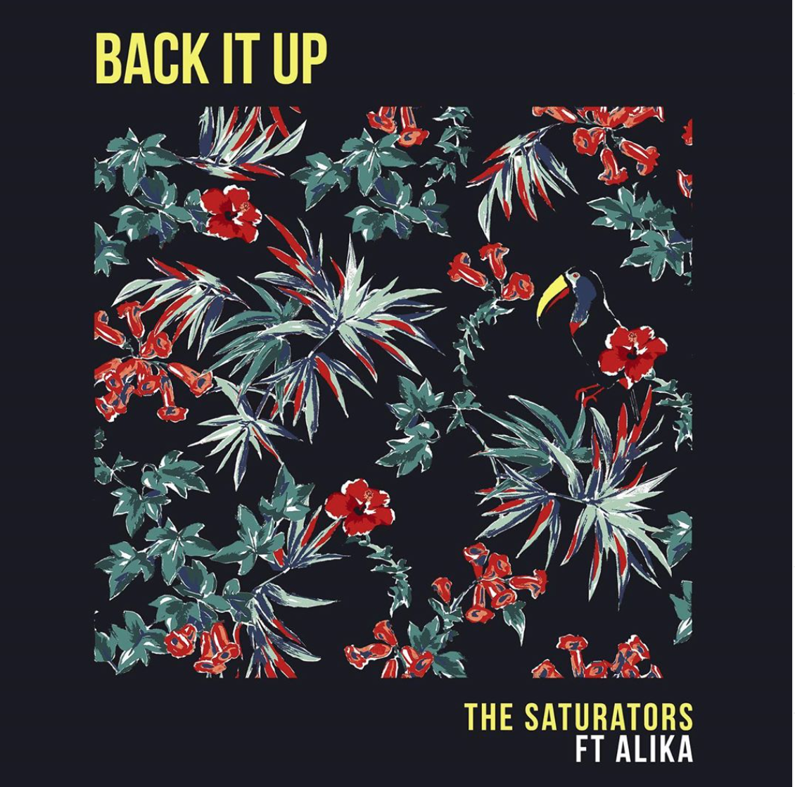 The Saturators- Back it Up (2019)