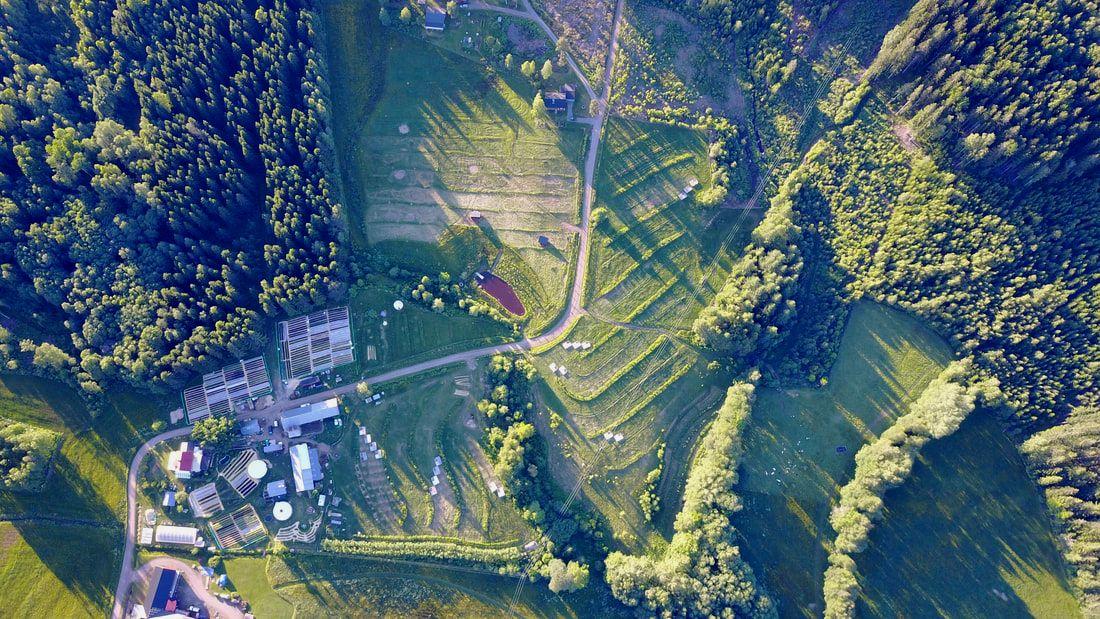 Ridgedale Permaculture Farm, Sweden