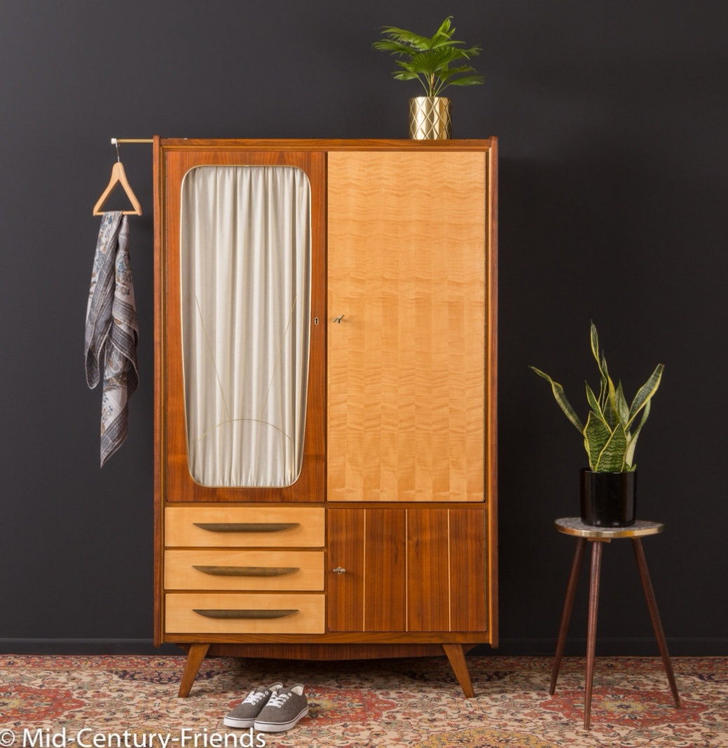 The style of wardrobe that i would have gone for. This one is from  Mid-century Friends  who stock the most incredible range of vintage furniture.