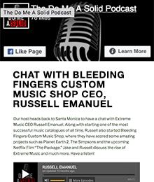 Bleeding Fingers