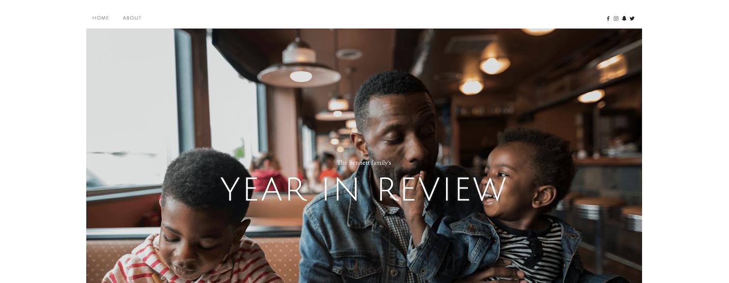 Nieuw Squarespace template voor 2018: Kin