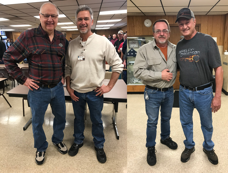 (L to R) Bob McCain, Tim Guild, Rob Warren, Dave Banks