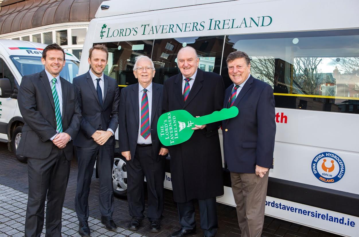 2018 Minibus Recipient – Spina Bifida Hydrocephalus Ireland