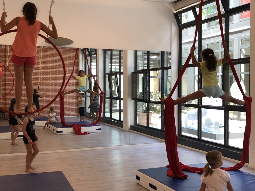 Stage de Cirque aérien - 7 à 12 ans