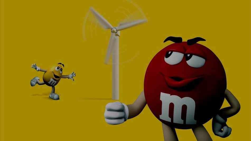 M&M's - Fans of Wind / Partnership with Mashable