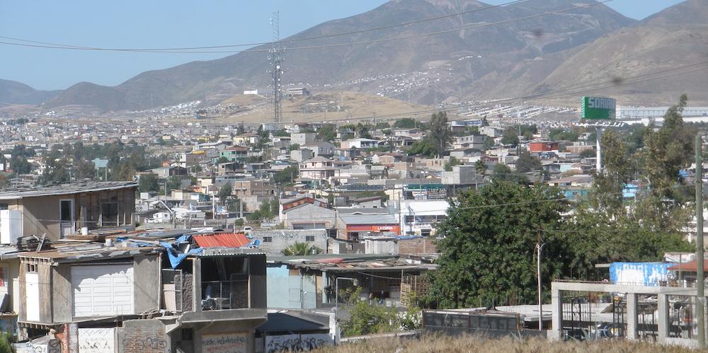 The city of Tijuana, MX.