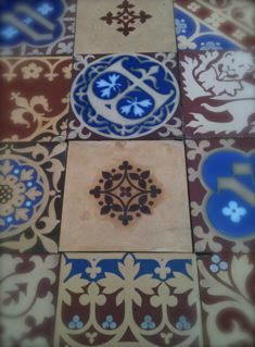 PALACE OF WESTMINSTER MINTON TILES