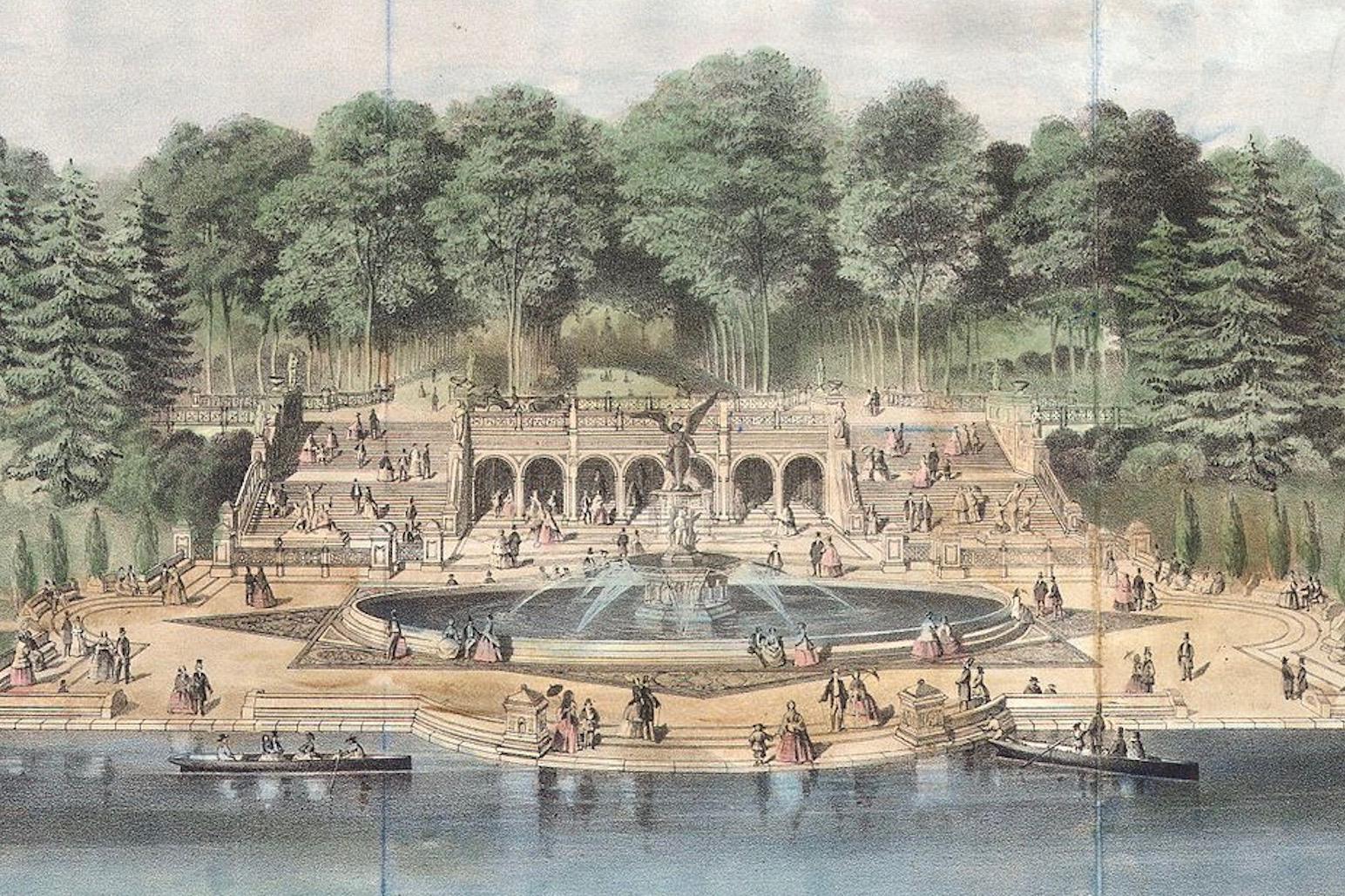 Bethesda Terrace 1869