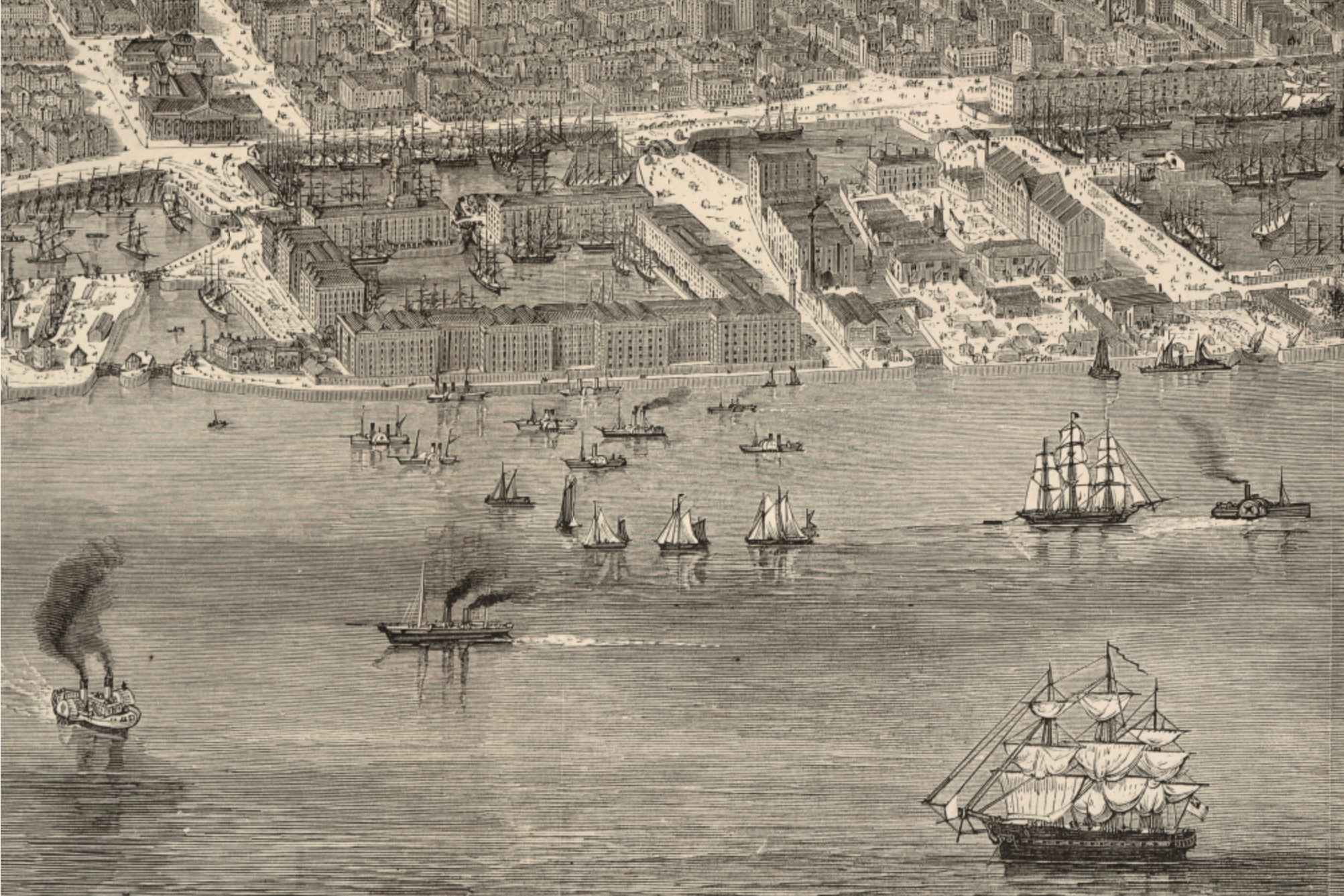 Port of Liverpool 1865