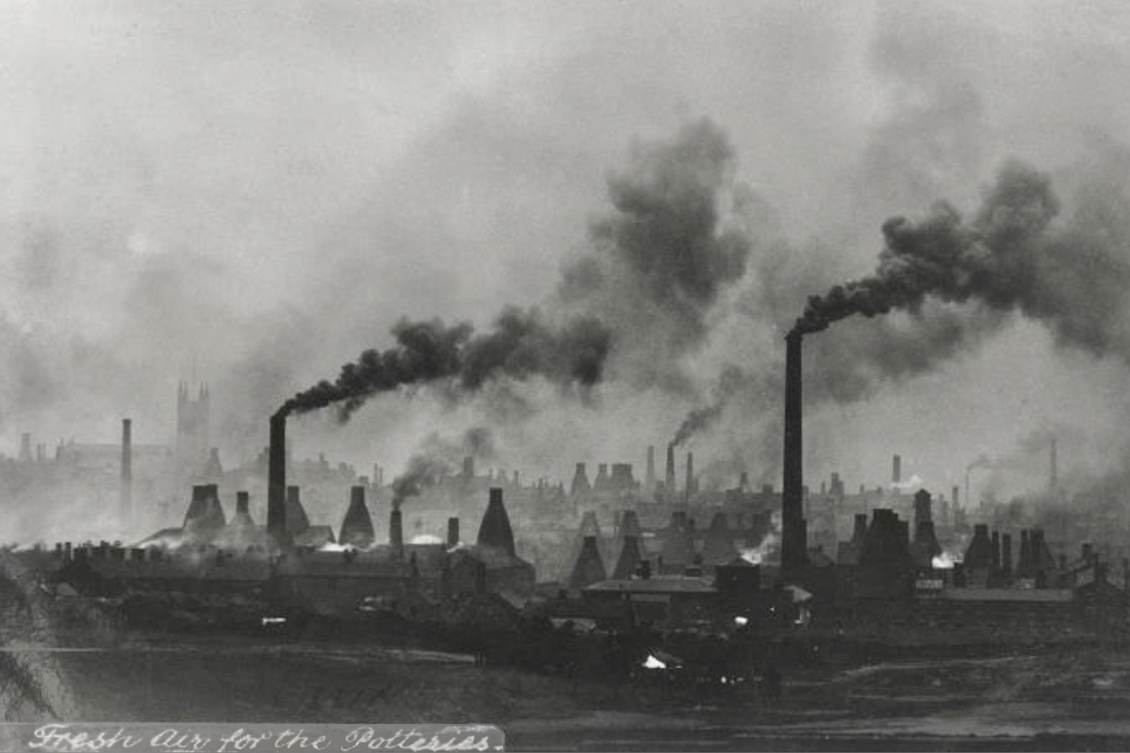 The Potteries (Stoke-on-Trent, England)