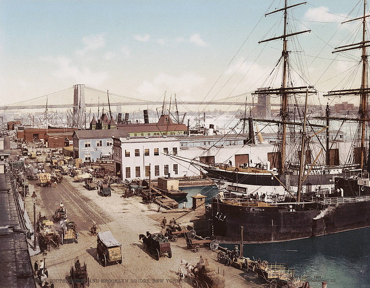 South Street Seaport c.1900