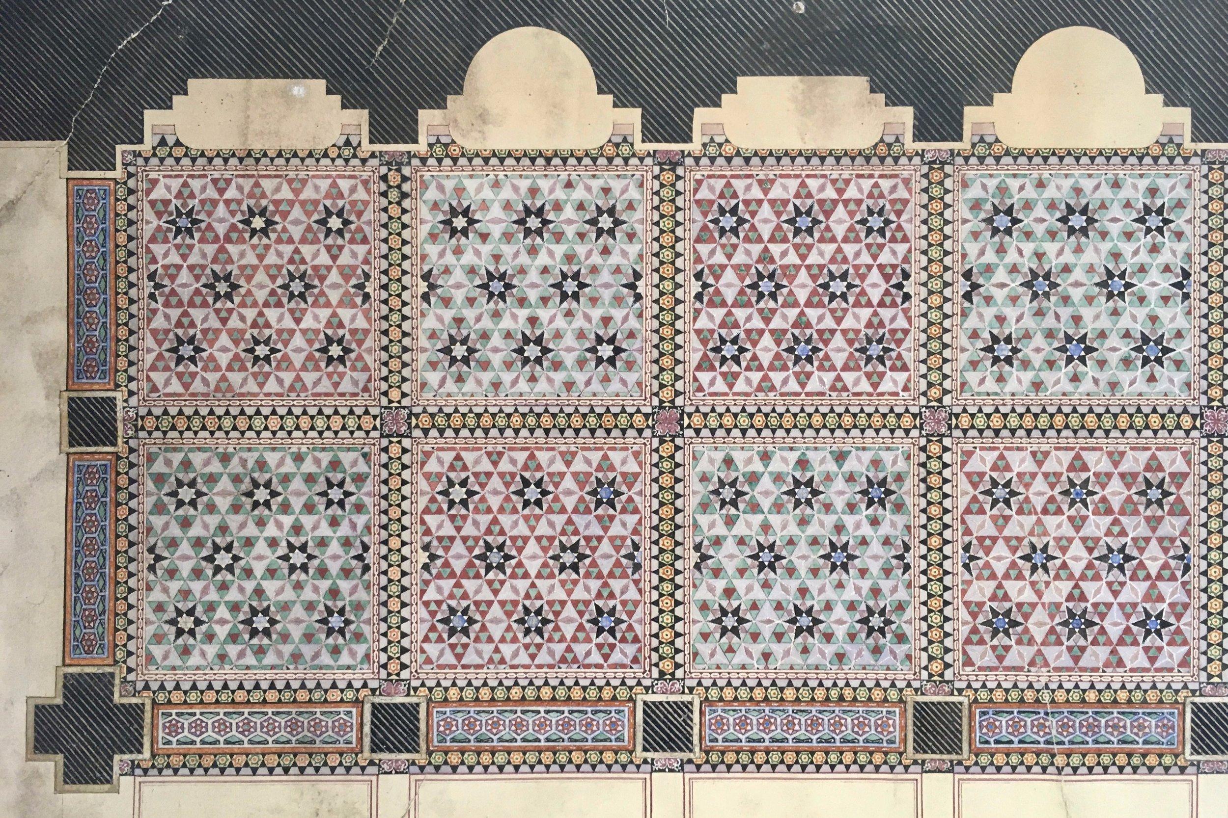 Minton Tile Floor Design