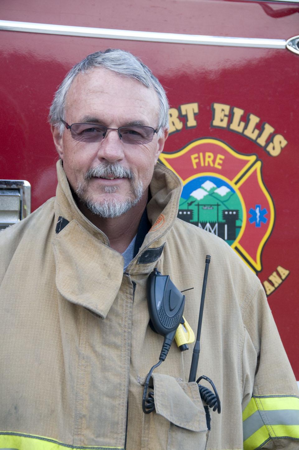 Fort Ellis Fire Chief Mike Cech
