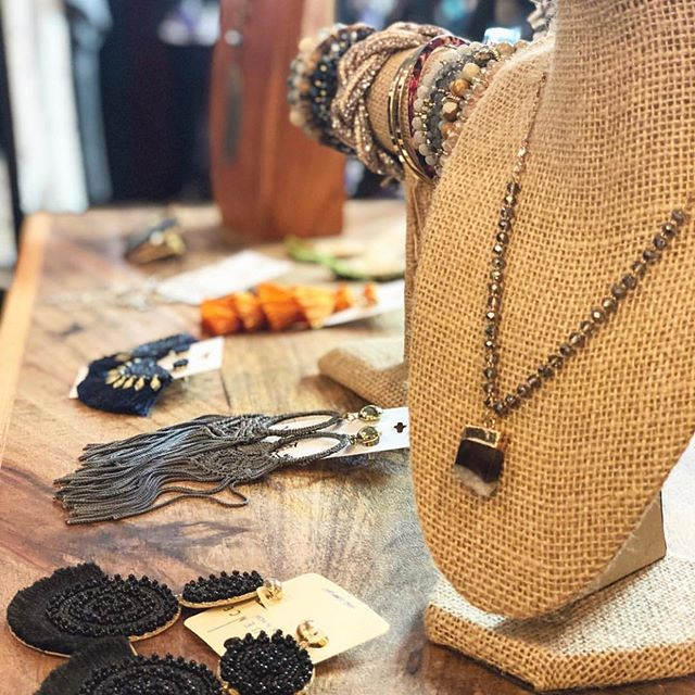 ✨EVERYTHING is 1/2 Off!! Some savvy customers were doing Christmas 🎁 shopping yesterday!! 1/2 jewelry means one for you and one to give as a gift. ✨Cabana is open 11-5 today✨