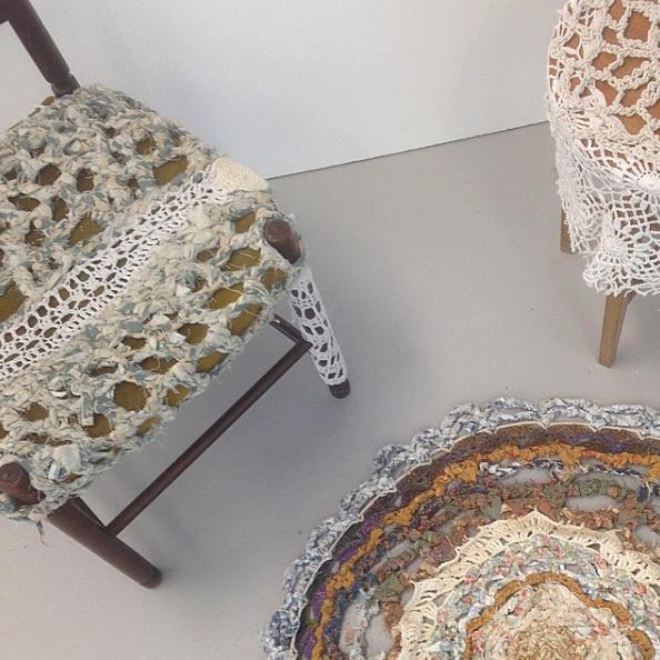 Yarnbombing Furniture
