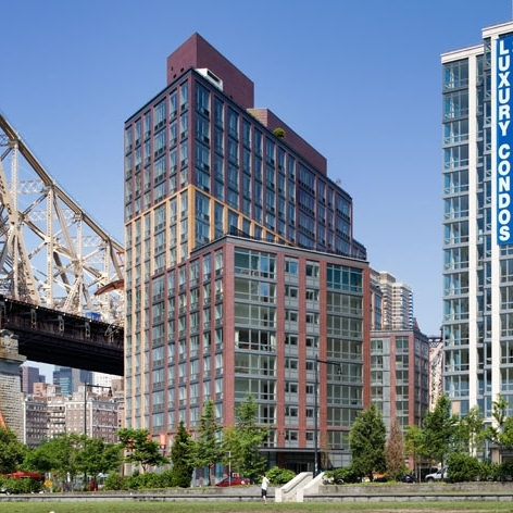 Riverwalk on Roosevelt Island, Building 6   242 Units  Completed in 2008