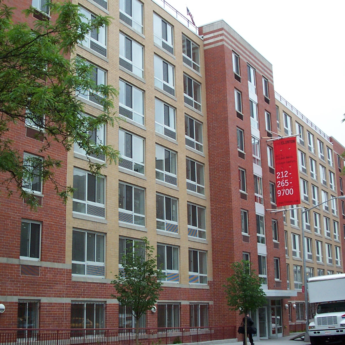 The Clinton, Hell's Kitchen, New York   109 Units  Completed in 2003