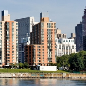 Riverwalk on Roosevelt Island, Building 1   256 Units - Memorial Sloan Kettering  Completed in 2003