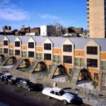 Tremont Terraces, Tremont, Bronx   171 Units (61 Two- and Three-Family Homes)  Completed in 1995