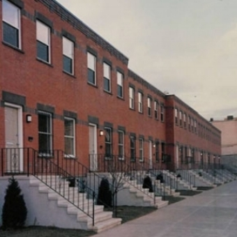 Antioch Place Homes, Bedford-Stuyvesant, Brooklyn   42 Units (21 Two-Family Homes)  Completed in 1991