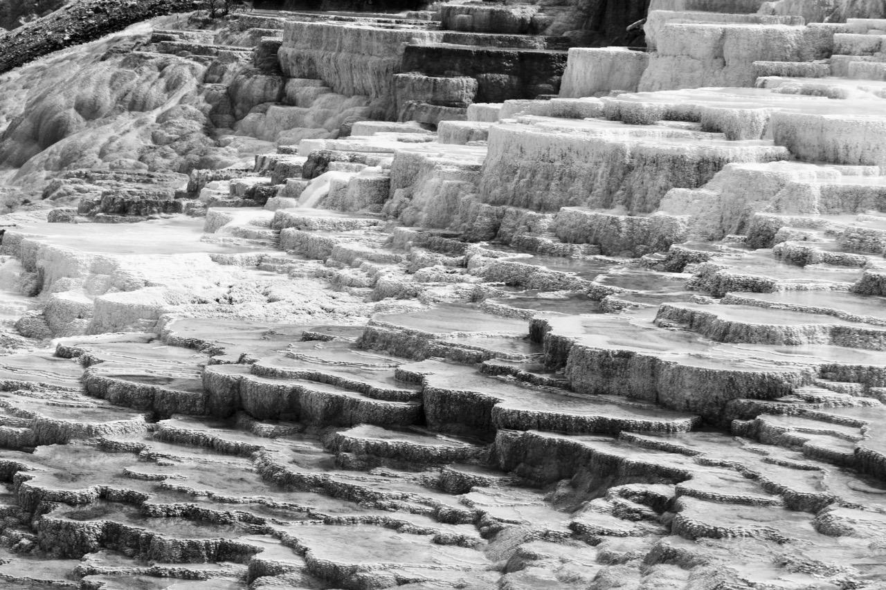 Stepping Stones of Mammoth - Yellowstone