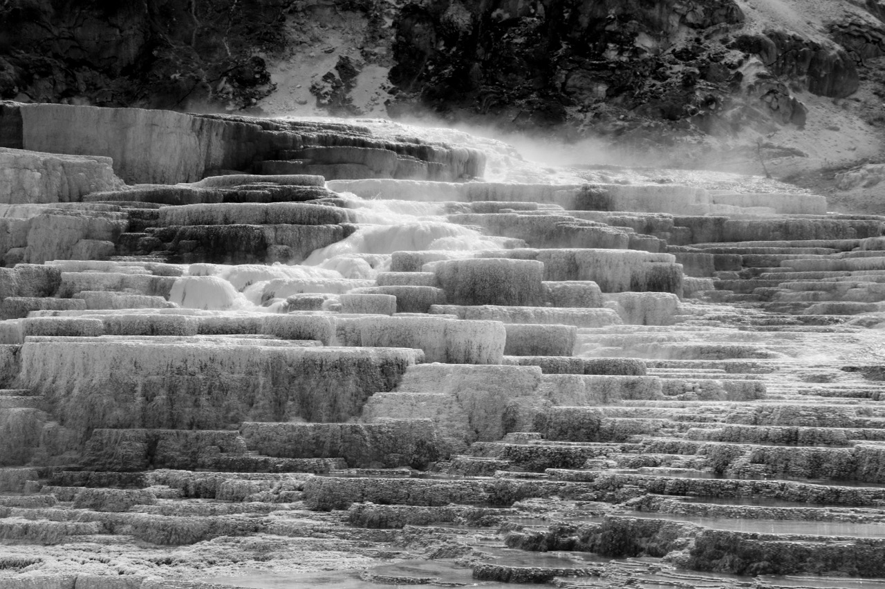 Heat Rising, Mammoth - Yellowstone