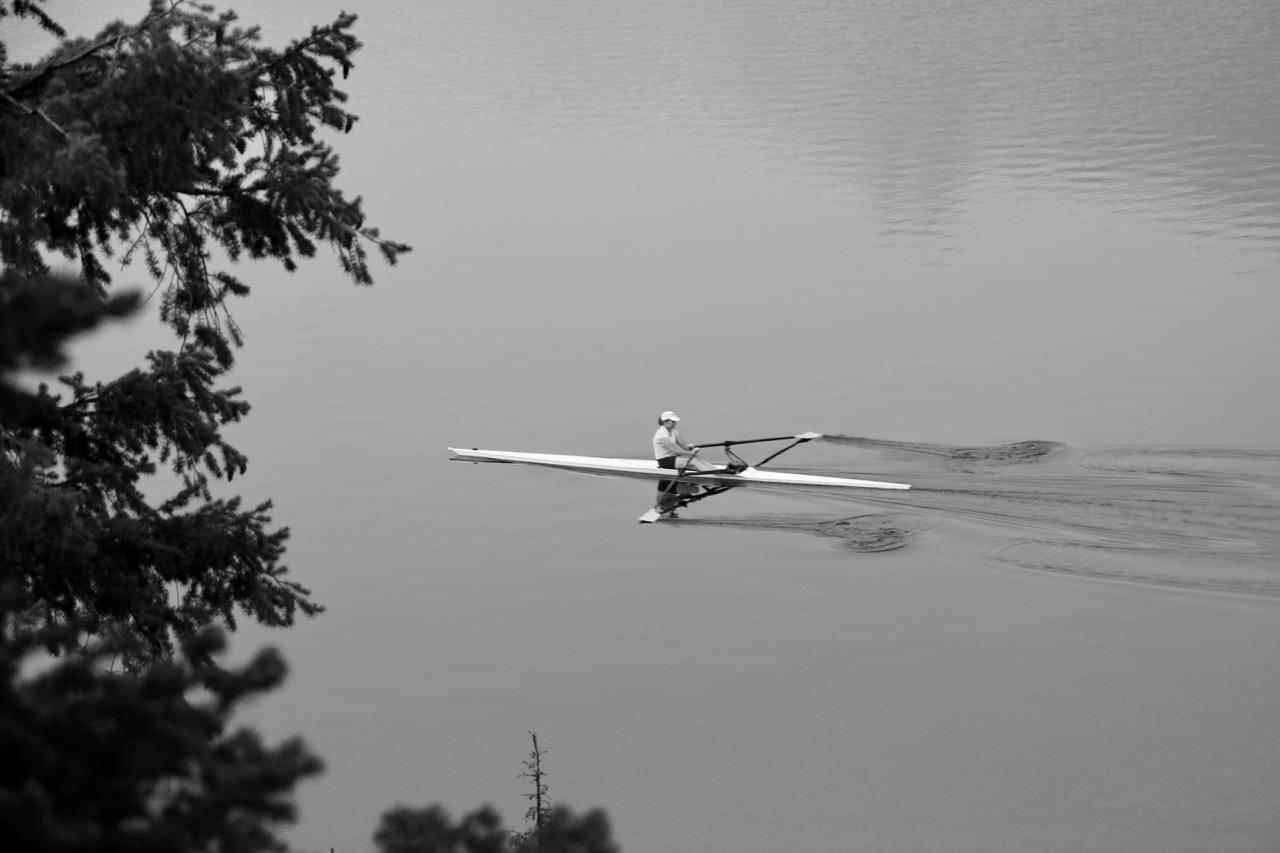 Early Morning Paddle - Grand Teton