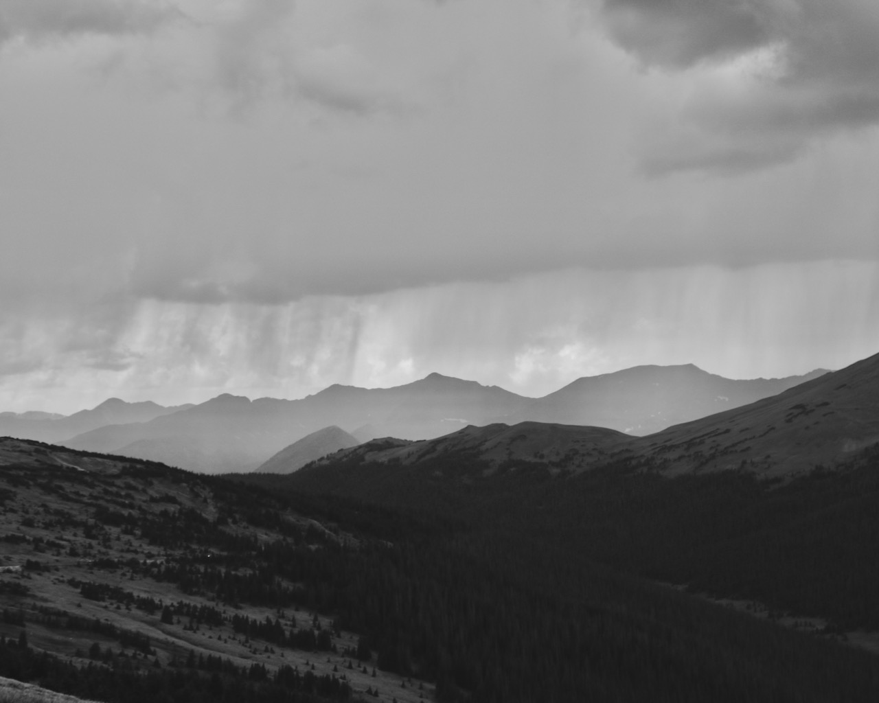 Weather Blowing In - Rocky Mountain