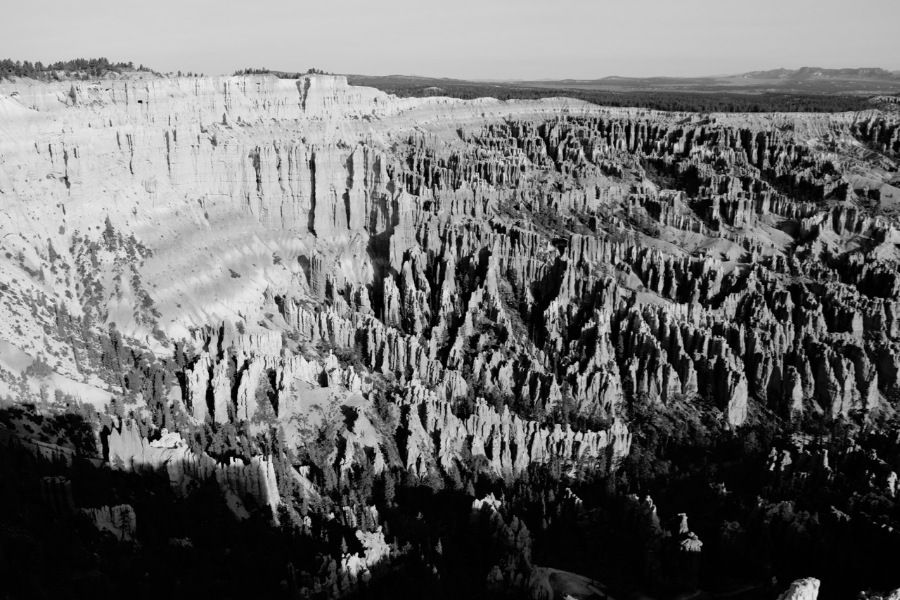 The Ampitheater, Inspiration Point - Bryce Canyon