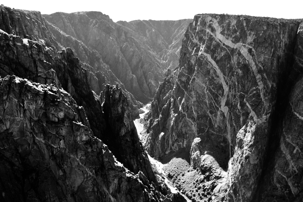 The Carving Power of Water - Black Canyon