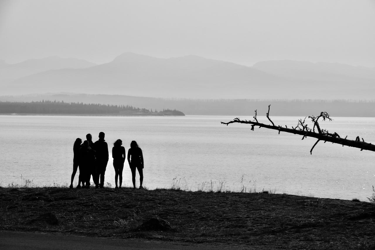 Sharing a Moment - Yellowstone