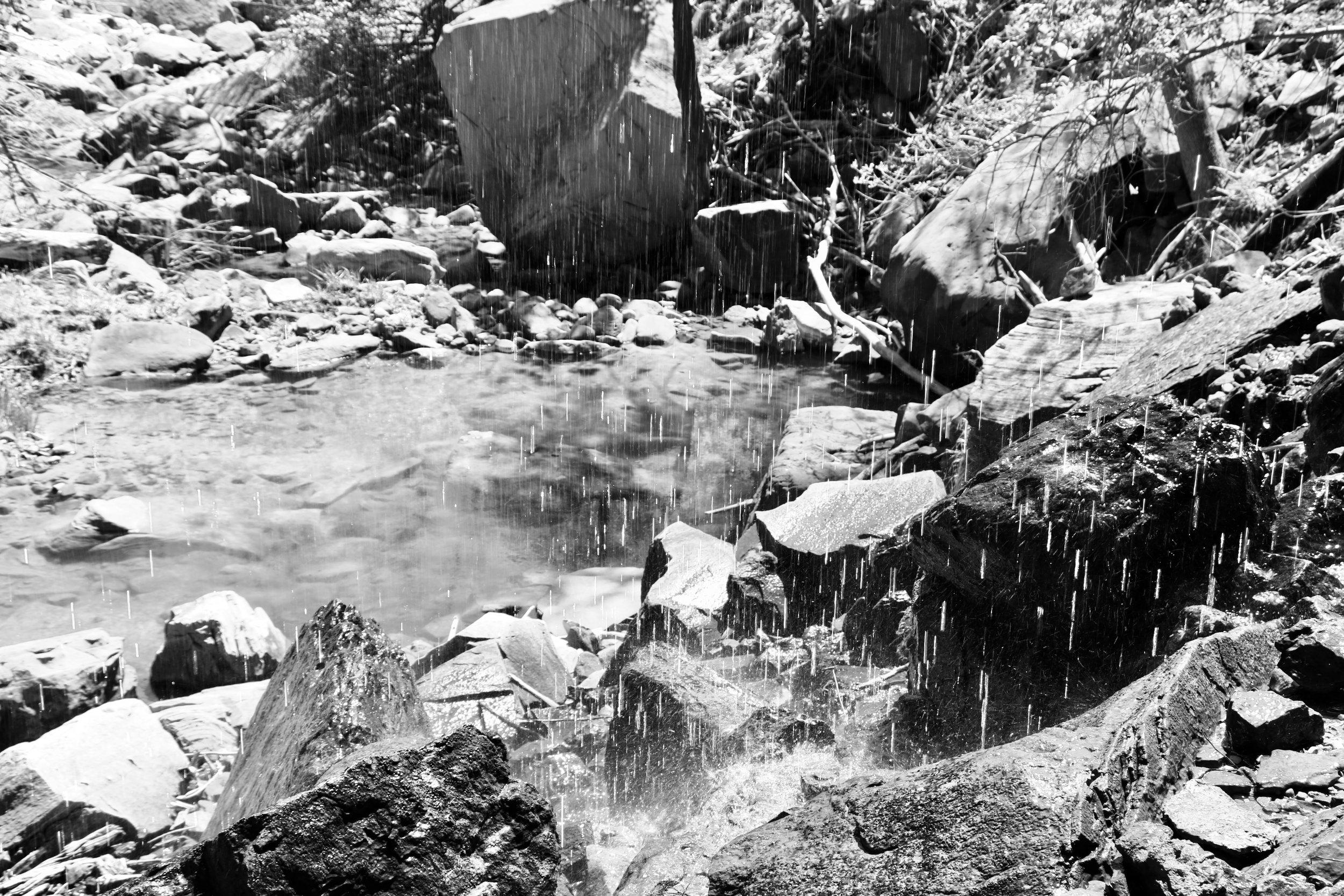 Beneath Emerald Falls - Zion
