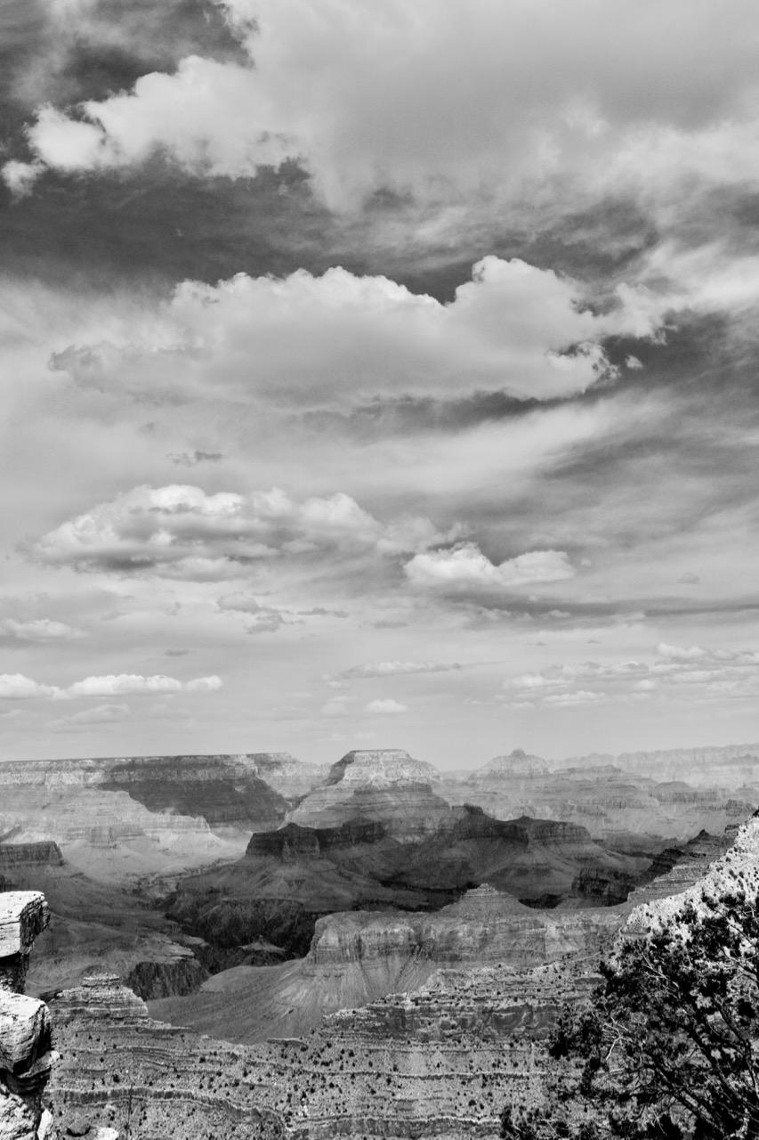 Cloud Shadows Sculpting the Land, Grand Canyon