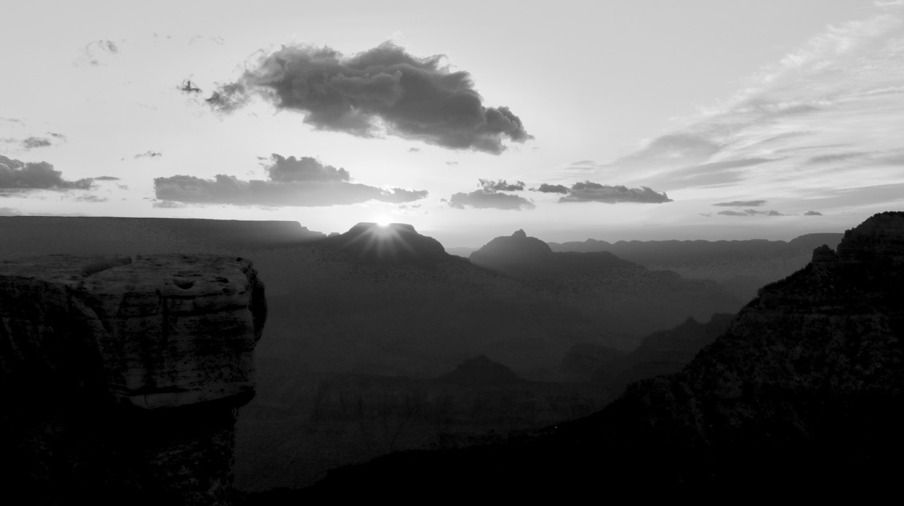 Sunrise from Mather Point, Grand Canyon