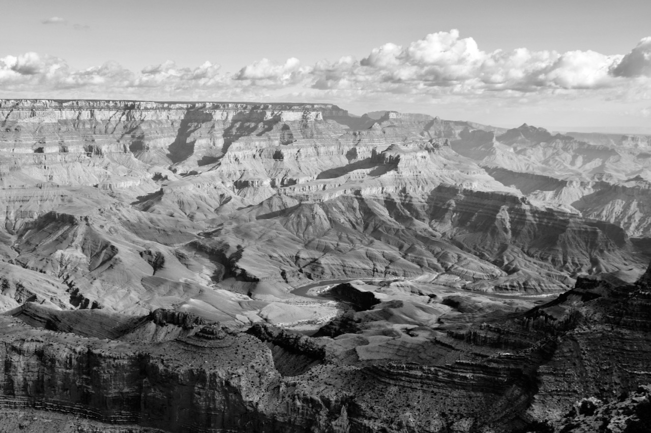Snaking River from Moran Point, Grand Canyon